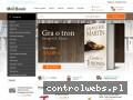Screenshot strony mollbook.pl