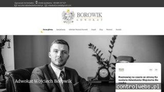 Adwokat Wojciech Borowik