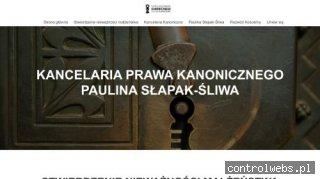 Prawnik kanoniczny - slapak-sliwa.com