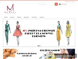 Sklep internetowy z odzieżą - sklep-markal.pl
