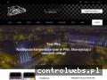 Screenshot strony pila.whitetaxi.pl