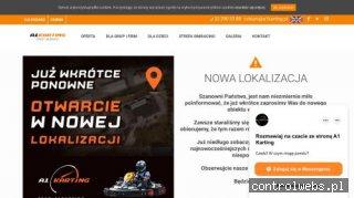 Rozrywka, Gokarty, Atrakcje, Imprezy firmowe - A1Karting.pl