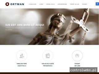 Kancelaria Radcy Prawnego Moniki Ortman
