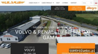 Oryginalne cześci używane do ciężarówek VOLVO i RENAULT LIS-