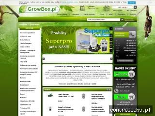 Sklep ogrodniczy - growbox.pl
