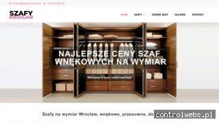 Szafy na wymiar Wrocław - szafywroclaw24.pl