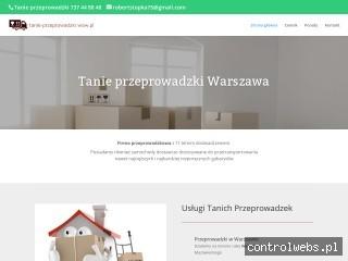Tanie przeprowadzki Warszawa - Usługi transportowe