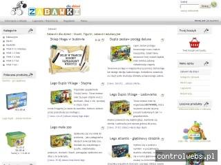 Zabawki dla dzieci - klocki, figurki, zabawki edukacyjne