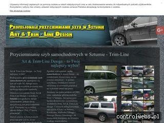 TRIM-LINE Przyciemniane szyby samochodowe