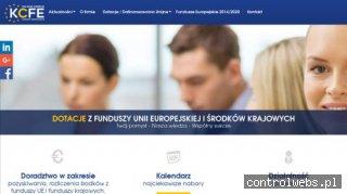 Fundusze europejskie - KCFE