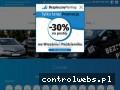 Screenshot strony bezpiecznyparkingmodlin.pl
