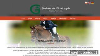 Pensjonat koni sportowych - skgozdow.pl