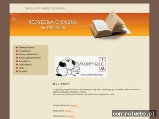 Medycyna Chińska - szkolenia