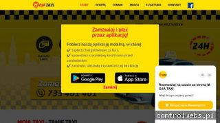 Taxi najtaniej - www.mojataxi24.pl
