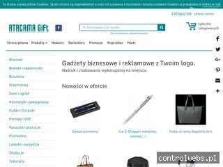 Atacama Warszawa. Gadżety reklamowe i koszulki z nadrukiem
