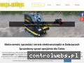 Screenshot strony dobczyce-motoserwis.pl