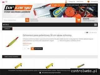 Pasy mocujące - forcargo24.pl