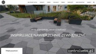 Minimalistyczny ogród - certus.eu