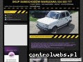 Screenshot strony www.kupieautowarszawa.com.pl