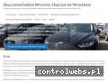 Screenshot strony www.skupsamochodowwroclaw24.pl