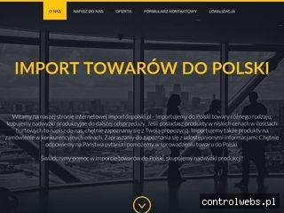 TDS Import Towarów do Polski