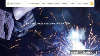 Prakton - konstrukcje stalowe