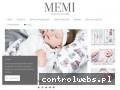 Producent najwyższej jakości pościeli dla dzieci i niemowląt - www.MEMI.eu