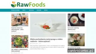 Ekologiczna żywność - Sklep Rawfoods