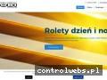 Screenshot strony www.roletymobi.pl