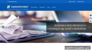 Gwarant - gwarantomat.pl
