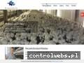 Screenshot strony www.producentpieczarek.com.pl