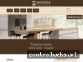 Screenshot strony www.magnoliameble.pl