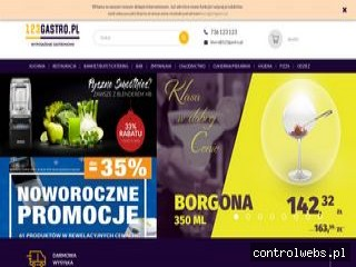 Wyposażenie gastronomii - 123gastro.pl