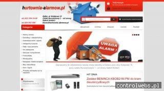 www.hurtownia-alarmow.pl hurtownia alarmów Kalisz