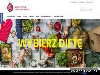 Catering dietetyczny - Miód Malina Warszawa