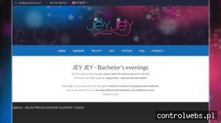 JeyJey - wieczory kawalerskie, imprezy, striptiz
