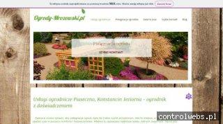 Ogrody Mrozowski - zakładanie, pielęgnacja ogrodów Piaseczno