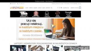 Notebooki poleasingowe - centrumelektronikimobilnej.pl