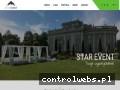 Screenshot strony www.starevent.pl