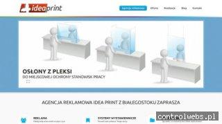 Agencja reklamowa Idea Print - Białystok