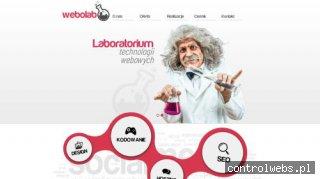 Webolab - tanie tworzenie stron www - Łodź