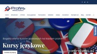 www.profes.edu.pl - korepetycje angielski Będzin