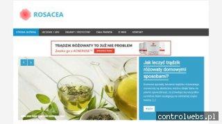 Rosacea.net.pl poznaj przyczyny trądziku różowatego