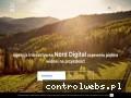 Screenshot strony norddigital.com