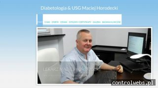 Diabetologia & USG Maciej Horodecki