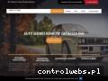 Screenshot strony autoserwiskrakow24.pl