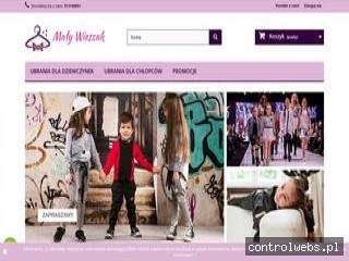 Ubrania dla dziewczynek Mały Wieszak