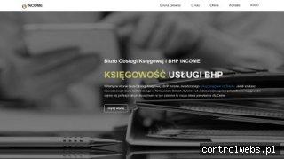 Income - usługi bhp