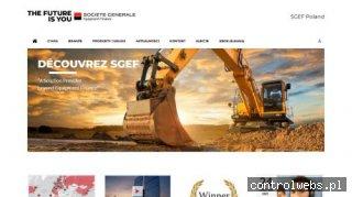 SGEF Polska - leasing samochodów dostawczych i maszyn