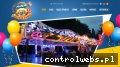 Screenshot strony lunapark-komar.pl